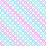 Seamless diagonal multicolor pattern. Royalty Free Stock Photos