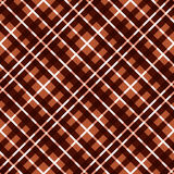 Seamless diagonal pattern in brown Royalty Free Stock Photo
