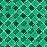 Seamless diagonal pattern in Emerald Stock Photo