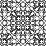 Seamless diagonal rounded square pattern. Seamless diagonal rounded line square pattern background Royalty Free Stock Photos