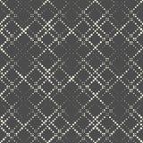 Seamless Diagonal Stripe Pattern. Vector Monochrome Geometric Ba. Ckground. Dots Futuristic Ornament. Abstract Minimal Graphic Design Royalty Free Stock Photo