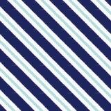 Seamless diagonal stripes pattern Stock Image