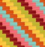 Seamless diagonal stripes pattern Royalty Free Stock Photos