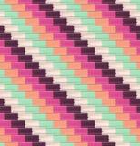 Seamless diagonal tiles pattern Royalty Free Stock Images