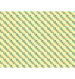 Seamless diagonal wave abstract pattern on yellow Royalty Free Stock Photography