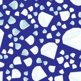 Seamless diamanter mönstrar Arkivfoton