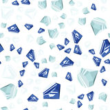 Seamless diamanter mönstrar Royaltyfria Bilder