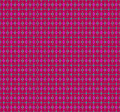 Seamless diamond and ellipses pattern red violet turqoise green gray Royalty Free Stock Photo