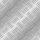 Seamless diamond metal plate royalty free stock images