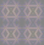 Seamless diamond pattern purple pink brown. Abstract geometric seamless background. Modern regular diamond pattern in purple, light brown and pink shades on dark royalty free illustration
