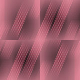 Seamless diamond pattern in squares pale red gray diagonally Royalty Free Stock Photo
