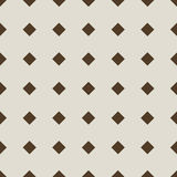 Seamless diamond pattern. Royalty Free Stock Photography
