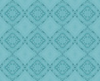 Seamless diamond pattern turquoise Stock Image