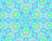 Seamless diamond pattern turquoise violet Stock Photo