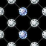 Seamless diamond pattern. Vector illustration Stock Image