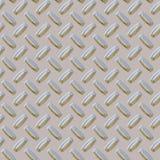 Seamless Diamond plate stock photo