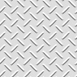 Seamless Diamond plate texture stock illustration