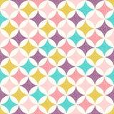 Seamless diamond shape background Stock Photo