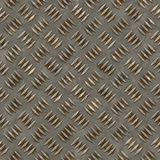 Seamless diamond steel background Stock Photos