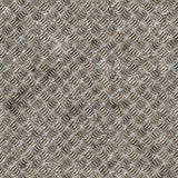 Seamless diamond steel background Royalty Free Stock Photography
