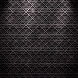 Seamless diamond steel background Royalty Free Stock Photos