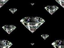 Seamless diamond texture Royalty Free Stock Photography
