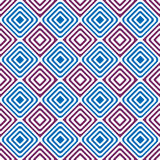 Seamless diamonds backgound pattern Stock Photography