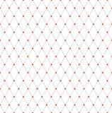 Seamless diamonds lattice pattern. Geometric mesh texture. Vector art royalty free illustration