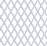 Seamless diamonds latticed pattern. Royalty Free Stock Photo