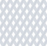 Seamless diamonds and lines pattern. Stock Images