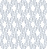 Seamless diamonds and lines pattern. Stock Image