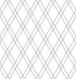 Seamless diamonds pattern. Geometric lattice texture. Stock Photos