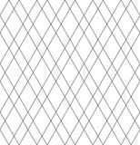 Seamless diamonds pattern. Geometric lattice texture. Royalty Free Stock Image