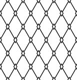 Seamless diamonds pattern. Geometric latticed texture. Stock Photography