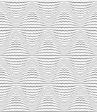 Seamless diamonds pattern. Zigzag lines texture. Stock Photos
