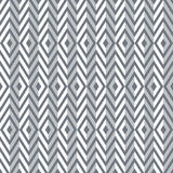 Seamless diamonds and zigzag pattern. Stock Images