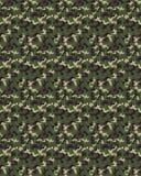 Seamless digital camouflage Stock Photo
