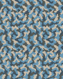 Seamless of digital camouflage Royalty Free Stock Photo