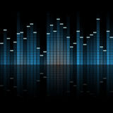 seamless digital equalizer background Stock Photography