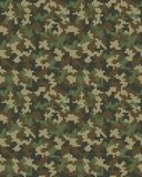 Seamless digital camouflage pattern Stock Photos