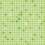 Seamless digital green square vector texture Stock Images