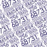 Seamless digital pattern Royalty Free Stock Photography