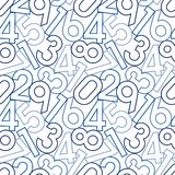 Seamless digital pattern Stock Images