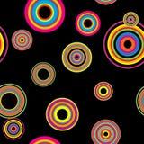 Seamless disco background Royalty Free Stock Photo