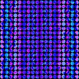 Seamless disco pattern Stock Images