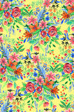Seamless ditsy floral pattern with bright flowers. Small wild flowers, pattern with beautiful bouquets. seamless design Royalty Free Stock Images