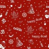 Seamless Diwali Pattern Royalty Free Stock Image