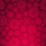 Seamless djupröd jultexturmodell. EPS 8 Arkivbild