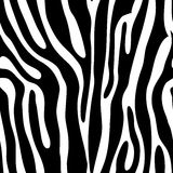seamless djurt tryck Arkivfoto