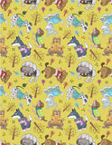 Seamless dog pattern Royalty Free Stock Photography